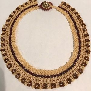 Beaded necklace RBG Style